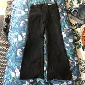 Club Monaco Tropical Wool Black Trousers Sz 6